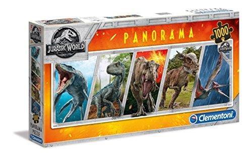 Clementoni Jurassic World 1000 Piece Panorama Jigsaw Puzzle