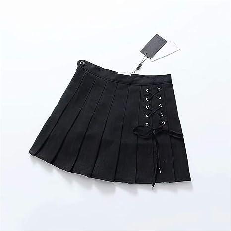 Faldón plisado, falda corta o falda elástica, falda plisada, falda ...