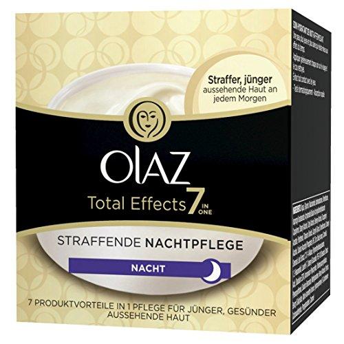 Olaz Total Effects 7-in-1 Nachtpflege, Tiegel, 50 ml