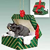 Elephant Gift Box Christmas Ornament - DELIGHTFUL!