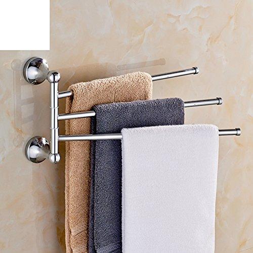 durable modeling Copper Towel Bar/Revolving towel rack/bathroom rack/Towel Bar-A