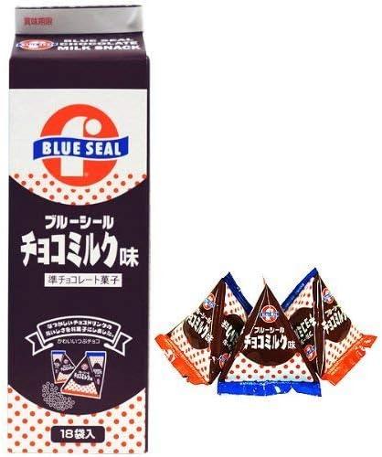 ブルーシール チョコミンツ 18袋入×5P 沖縄物産企業連合 沖縄を代表するアイス屋さん・ブルーシールのチョコミンツ レトロなパッケージ 沖縄土産におすすめ