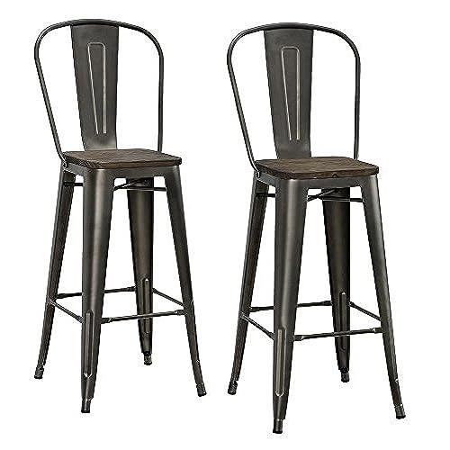 Fresh Rustic Bar Stools: Amazon.com XU47