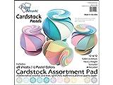 Accent Design Paper Accents ADP1212.1093 12x12 Pastel Cardstock Pad
