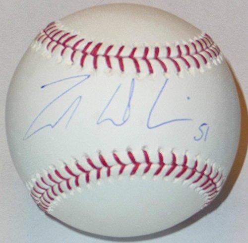 (Zak Deossie Signed Baseball New York Giants Football Super Bowl Xlvi Champions - NFL Autographed Miscellaneous Items)