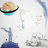 CHengQiSM The Little Prince Sticker Planet and Fox