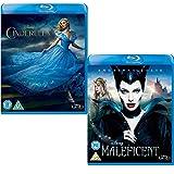 Cinderella - Maleficent - Walt Disney 2 Movie Bundling Blu-ray