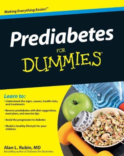 Prediabetes Dummies Alan L Rubin product image