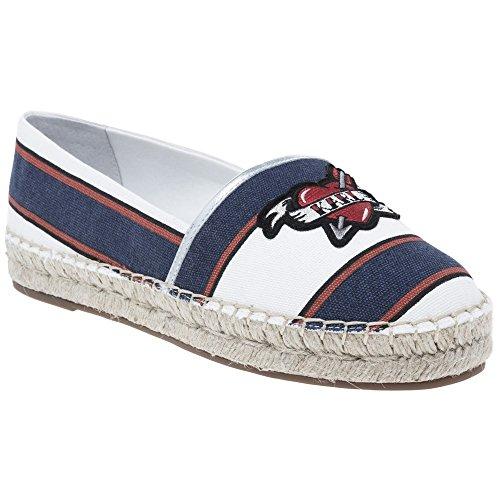 b0977bd8cbfeb Delicado Karl Lagerfeld Captain Karl Slip On Mujer Zapatos Navy ...