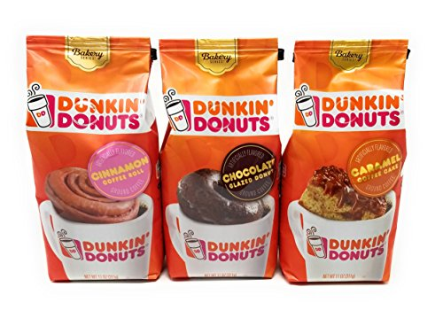 Dunkin Donuts Bakery Series Variety, Cinnamon Coffee Roll ...