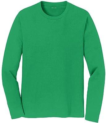 9aa88770d455 Amazon.com: Joe's USA - Mens Long Sleeve Soft Cotton Lightweight T-Shirts  in Sizes S-6XL: Clothing