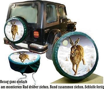 Funda para rueda de repuesto protectora Wild Diseño Conejo para caza-Fans para su Jeep: Amazon.es: Coche y moto