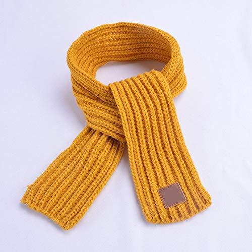 Girl's Scarves Fashion Boys Girls Winter Scarf Kids Pompom Baby Scarf Warm Neck Warmer Scarves Knitting Wool Foulard