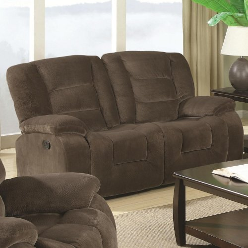 Coaster Charlie Casual Upholstered Reclining