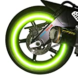 car 26 inch rims - customTAYLOR33 NEW Special Edition Lime Green High Intensity Grade Reflective Copyrighted Safety Rim Tapes, 26