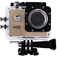 Domybest Full HD 30M Waterproof Sports Action Camera DV DVR 2.0 SJ4000 Gold