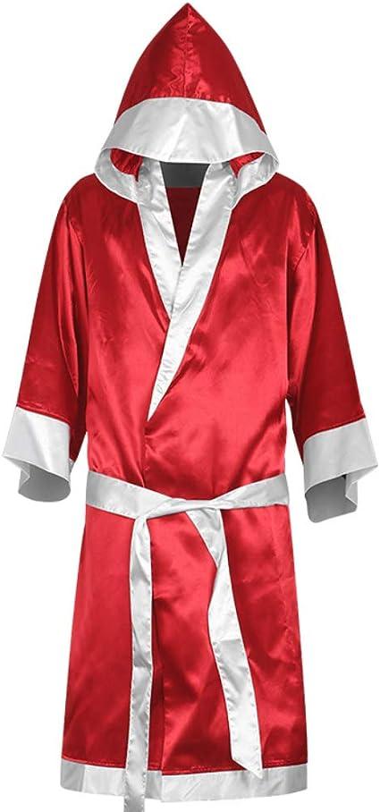 Yeshai3369 - Albornoz de Boxeo con Capucha para Hombre, MMA, Boxeo, Muay Thai, Color Sapphire Blue XXL, tamaño Talla única: Amazon.es: Deportes y aire libre
