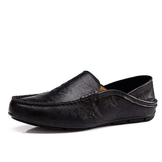 Zxcvb - Zapatos de conducción para Hombres Premium de Piel auténtica Slipper Casual Slip On Zapatos Mocassins: Amazon.es: Deportes y aire libre