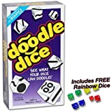 Doodle Dice with FREE Rainbow Dice