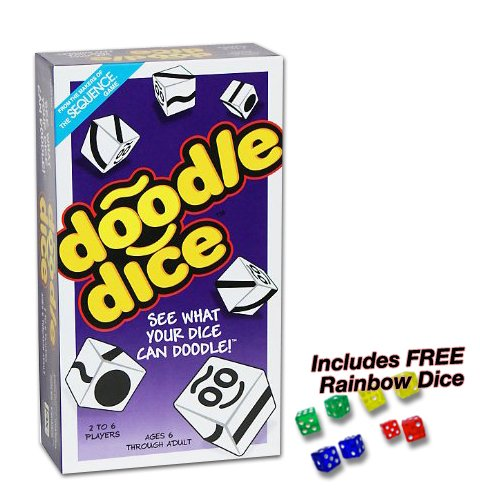 Doodle Dice with FREE Rainbow Dice (Doodle Dice)