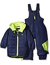 Pacific Trail baby-boys Baby 2 Piece Set Heavy Weight Jacket and Bib Pant