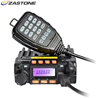 Zastone MP300 Mobile Radio 200-Channel 25W UHF/VHF Mobile Transceiver Ham Radio