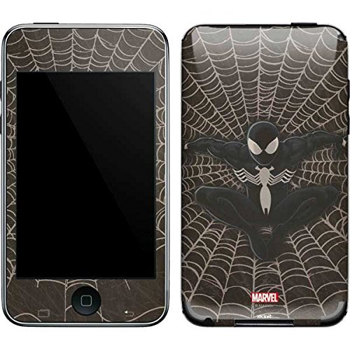Marvel Spider-Man iPod Touch (2nd & 3rd Gen) Skin - Spidey Black Vinyl Decal Skin For Your iPod Touch (2nd & 3rd Gen) ()