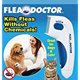 Flea Doctor Comb,Electric Head Lice Comb,Head Lice Removal Pet Cleaning Capture Tool Dogs & Cats
