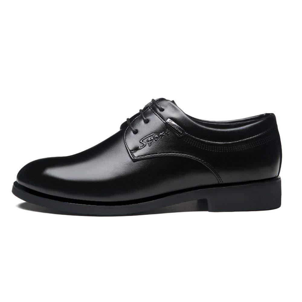 Willsego Japanische Herren Kleid Schuhe Business Schuhe Freizeitschuhe Freizeitschuhe Freizeitschuhe British Herrenschuhe Studio Belt Oxford Leder (Farbe   Schwarz, Größe   44) 21c6c4