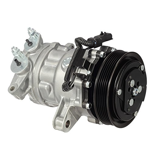 AUTEX Premium Quality CO 4335C AC Compressor And A/C Clutch Kit 889640 889671 889701 Replacement for Jeep Liberty 2002 2003 2004 2005 3.7L