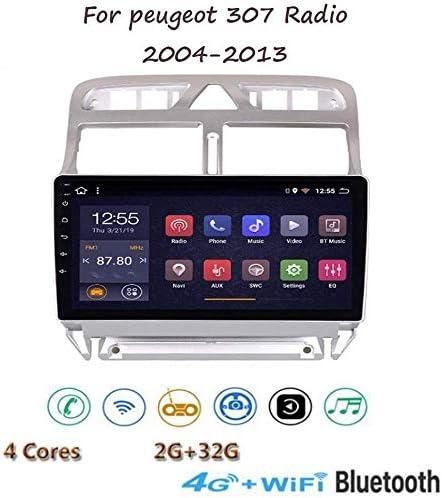 Android 8.1 GPS Navigation Stereo Radio, para Peugeot 307 2004-2013, 9