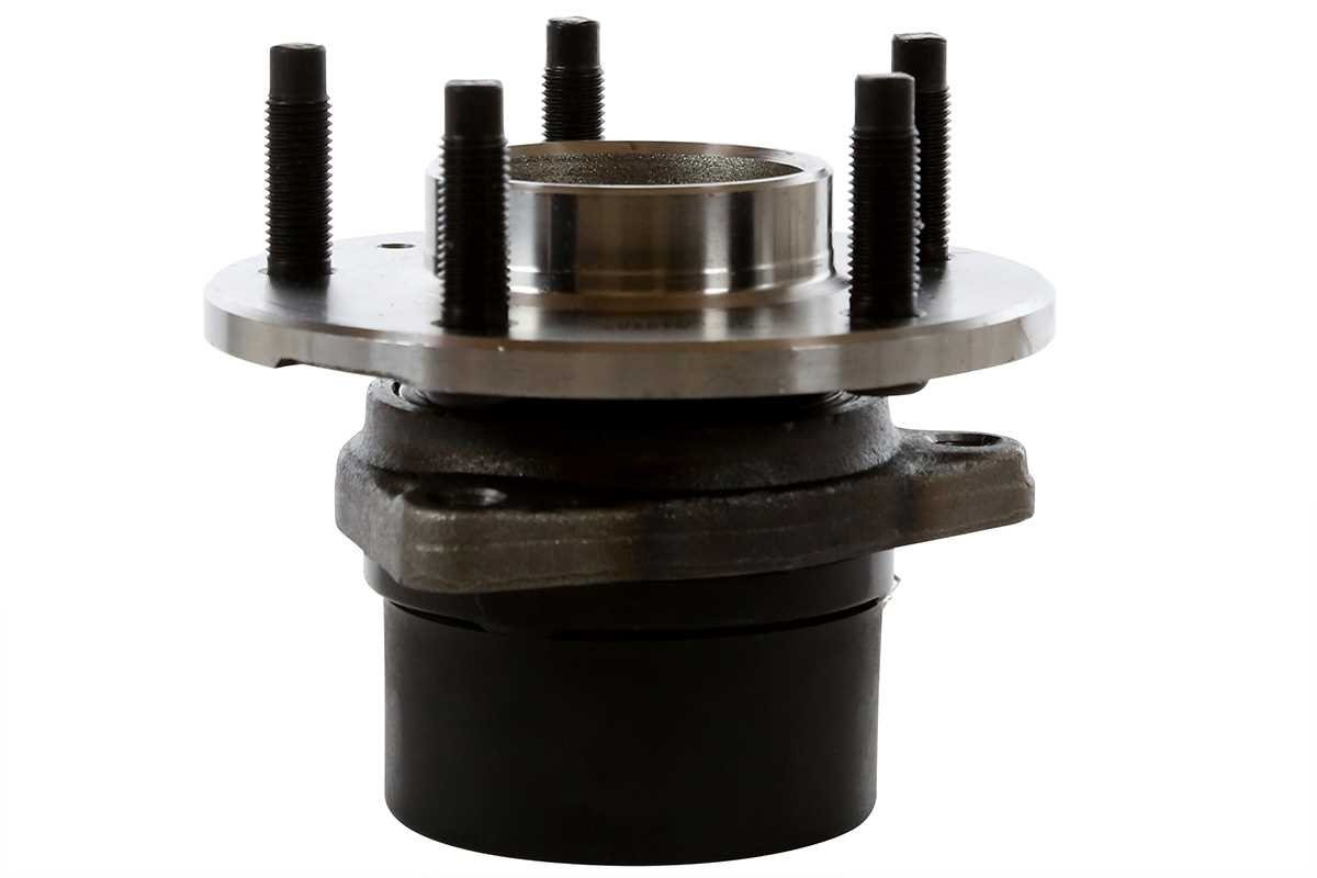 Prime Choice Auto Parts RHBBK0238 2 Rear Brake Rotors /& 4 Ceramic Pads /& 2 Hub Bearing Assemblies