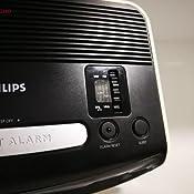 Philips AJ3123/12 - Radio despertador (Sintonizador FM, temporizador y alarma dual), negro