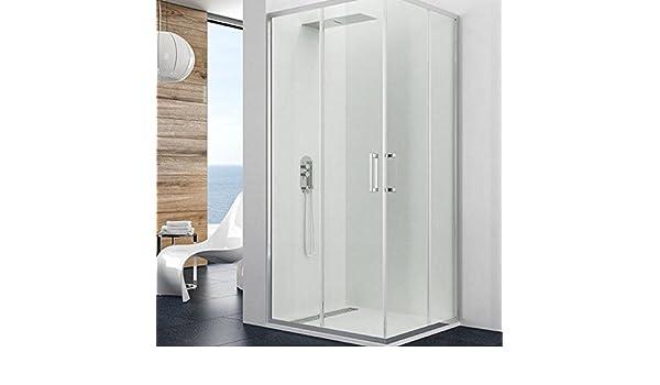 Mampara de ducha de esquina Theia par degeo | mampara de cristal ...
