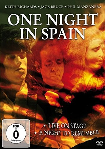 Various Artists -One Night In Spain (Keith Richards,Jack Bruce,Phil Manzanera) [DVD] B01I06OU4C