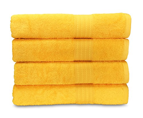 Goza Towels Ringspun Cotton 28-Inch-by-56-Inch Bath Towels,