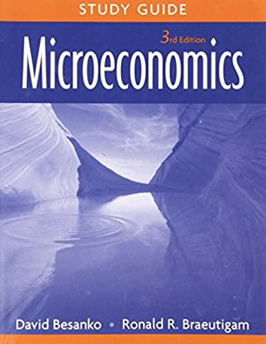 microeconomics study guide 9780470233337 economics books amazon com rh amazon com Law Studies Quick Study Charts