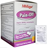 Pain-Off Extra Strength Pain Reliever Tablets (200 /Bx) 6 Boxes (1200 tablets) by Medique - MS71170