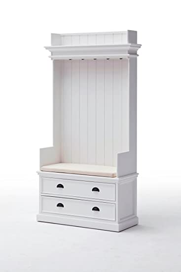 Amazon.de: Halifax Landhausmöbel Garderobe weiss shabby chic