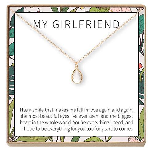 Dear Ava Gift for Girlfriend Necklace: Anniversary, Birthday, Valentine's Day (Best Apology Ever Written)