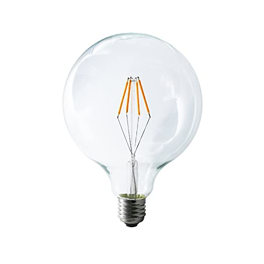 mengjay® 1 pieza 4 W G125 regulable AC220 V LED 4 Bombilla de filamento blanco