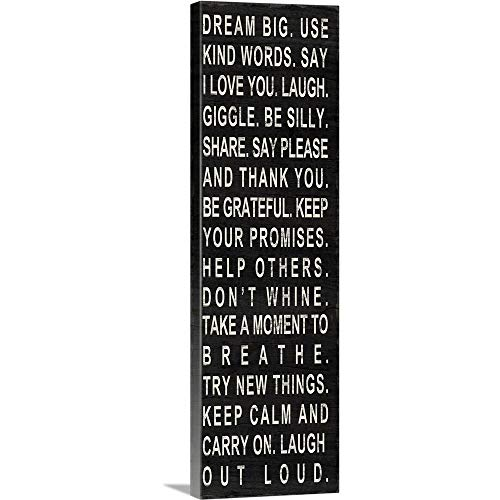 Dream Big Canvas Wall Art Print, 12