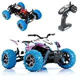 GP TOYS RC Car Rirder 5 Monster Trucks, Remote Control High Speed S609 ATV Off Road Truck Outdoor Toys White