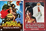 The Beast in Space (Unrated Version) & Malabimba (Unrated Version) Cult Horror 2-movie Set