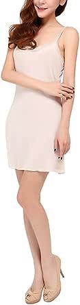 Hoerev Nattkläder i ren naturlig mullbärssilke för kvinnor heltäckande linne