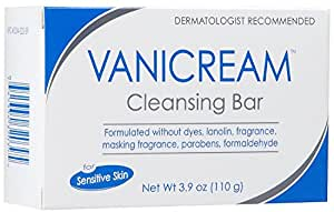 Vanicream Cleansing Bar for Sensitive Skin