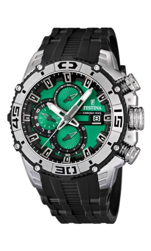 NEW Festina Chronograph Bike Tour De France 2012 Men's Watch F16600/3