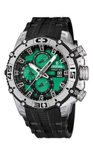 NEW Festina Chronograph Bike Tour De France 2012 Men's Watch F16600/3