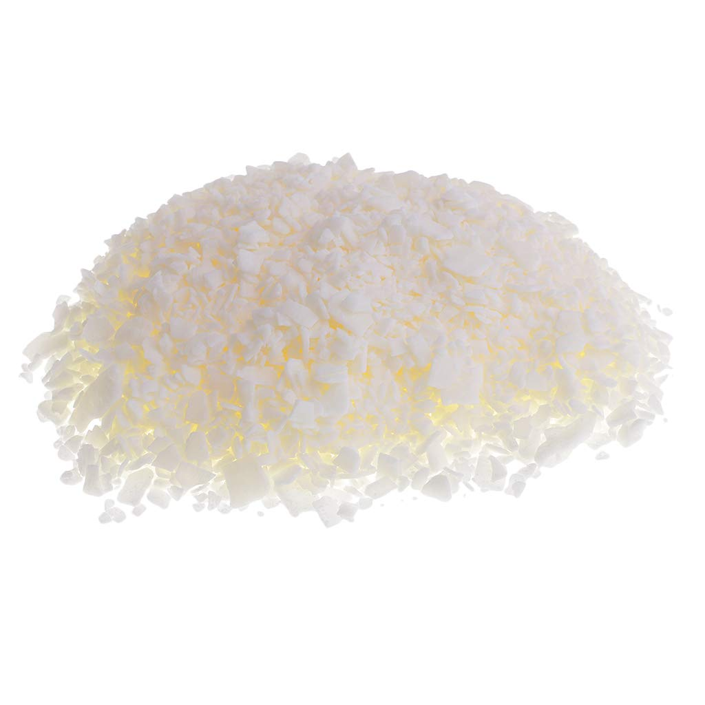 Prettyia 200g Natural Pure SOYA Wax SOYA Wax Flakes for DIY Candle Making Multi Purpose Use 52 Degree Centigrade Melting Point