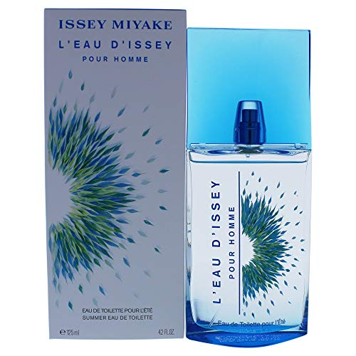 - Issey Miyake L'eau D'issey Men Summer Eau De Toilette Spray, 4.2 Ounce